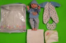 """Target Cititoy Circo----14"""" Vinyl Baby Boy Doll W/ Outfit & Carry Case"""