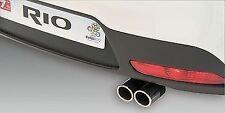 Genuine Kia Rio 2011+ Stainless Steel Twin Exhaust Trim