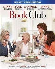 NEW NO SLIP KEATON FONDA BOOK CLUB  BLU RAY FREE DVD DIGITAL HD1ST CLS S&H