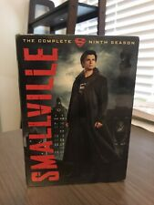 New And Sealed Smallville Complete 9th Season 6 Disc Tv Dvd Set Superman