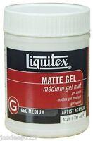 Liquitex Professional Medium Matte Gel 237ml Artist Paints Quality Acrylic Art