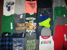 Boys Huge Size 3T 4T Fall Winter School Lot of  CLOTHES & OUTFITS  OLD NAVY NWT