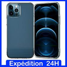 Coque Housse etui Gel silicone Transparent iPhone 8/7/6S/XR/XS/MAX/11/PRO/5C/6+