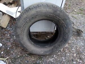Bridgestone Dueler used worn 265 70 16 Tyre suit restoration or project vehicle