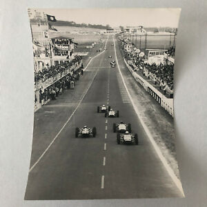 Vintage Car Racing Photo Photograph - Graham Hill Jim Clark +