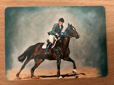 New listing DRESSAGE HORSE Equestrian Won Show Competition & Jockey SINGLE Swap Playing Card