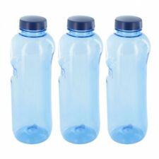 3x Kavodrink Tritan Trinkflasche 1 L Wasserflasche ohne Bisphenol-A (BPA frei)
