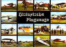 Postcard 126 - Plane/Aviation Art Michel & Co Nr. 4915 Historische Flugzeuge