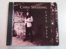 CHRIS SPEDDING CAFE DAYS 1991 A&M/HYPNOTIC CD CANADA PRESS 7135-61001-2 HTF OOP
