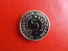 *Deutsche Währung/40 Jahre Silberfünfer*Münze/Medaille ca.36mm (KOF 1)