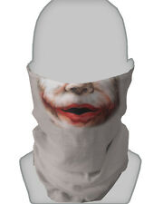 Spaventosa JOKER Mask Fancy Dress Stag Hen Night Collo Tubo
