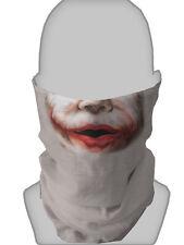 spaventosa Joker Faccia Design Maschera costume SCALDACOLLO RETINA PER CAPELLI