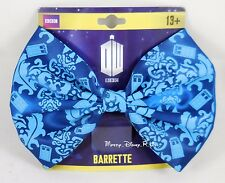 "New Dr Doctor Who Damask TARDIS 5"" Cosplay Hair Bow Costume Dress Up Barrette"