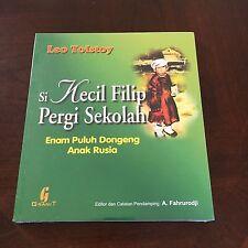 NEW, WRAPPED,  LEO TOLSTOY. SI KECIL FILIP PERGI SEKOLAH, 979461530X