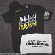 RIDE ALONG Movie Promo LARGE T-Shirt + Knit Hat + Towel + Air Fresh CUBE HART