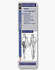 Staedtler Lumograph Drawing Pencil Tin - 6 Soft Grades