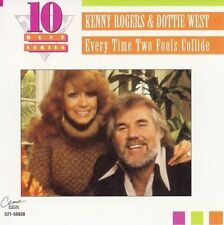 """KENNY ROGERS & DOTTIE WEST, CD """"EVERYTIME TWO FOOLS COLLIDE"""" NEW SEALED"""
