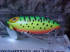 Arbogast Original 5/8oz Jitterbug TopWater G650-115 in Fire Tiger for Bass/Pike