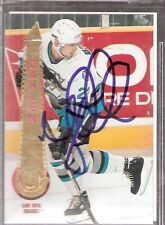 Autographed 1994 Pinnacle Ulf Dahlen San Jose Sharks