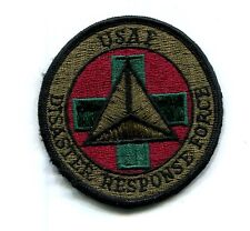 US Air Force Disaster  Response Force Military Patch