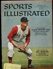 Sep 9 1957 Sports Illustrated Magazine With Roy McMillan Cover EXMT