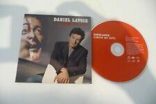DANIEL LAVOIE CD 1 TITRE PROMO POCHETTE CARTONNEE. L'AMOUR EST JUSTE. CARDSLEEVE