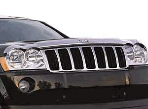"Jeep Cherokee 2001 /> 2005 Oscuro Humo Bonnet Guard /""no Grand Cherokee/"""