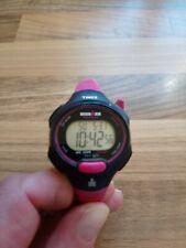 Ladies Timex Ironman Triathlon Watch Pink and Black.