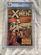 X-Men #5 1964 MARVEL 3rd Appearance Magneto 2nd Scarlet Witch CGC 3.5