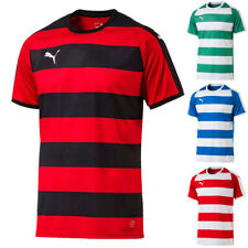 Puma liga fotografiada camiseta práctica de fútbol camisa Teamwear señores de deporte 703422