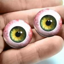 20 MM CC04 Green Grey  Glass Pabol  Doll EyesFAST SHIPPING TO USA