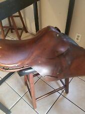 """Johs.  Stubben Germany vintage english saddle 16"""""""