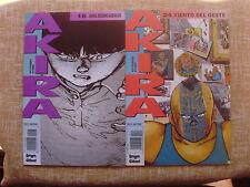 Lote de 2 Comics, Akira, nº 16 y 24, Katsuhiro Otomo, Dragón/Glénat, 1991