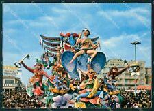 Lucca Viareggio Carnevale Foto FG cartolina ZK1354