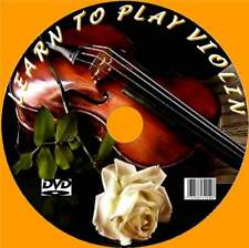 PLAY THE VIOLIN EASY STEP BY STEP TUITION VIDEO DVD GUIDE NEW TUNING SCALES  ETC