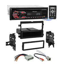Pioneer CD MP3 WMA Car Stereo Din Dash Kit Amp Harness for Ford Lincoln Mercury