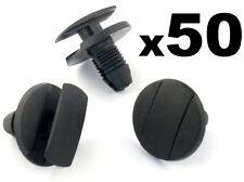 50x Peugeot Wheel Arch Lining, Undertray & Splashguard Plastic Trim Clip / Rivet