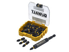 Dewalt Extreme Impact Torsion PZ2 Screwdriver Bits 25mm Pack of 25 & Holder
