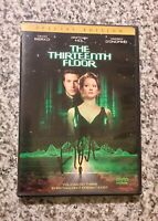 THE THIRTEENTH FLOOR (1999) SPECIAL EDITION DVD SIGNED BY VINCENT D'ONOFRIO RARE
