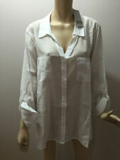Nylon Button Down Shirt Machine Washable Casual Tops & Blouses for Women
