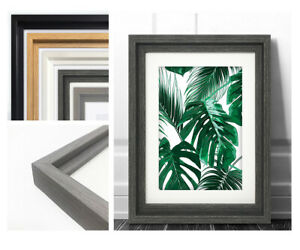 Hoxton Photo Picture Frame Large Poster Modern Wide Wood Effect Wall Mounted