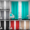 Nella Milan Ready Made Thermal Blackout Curtains Pencil Pleat Tape Top Curtain