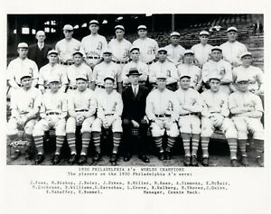 1930 World Champion Philadelphia Athletics 8x10 Team Photo