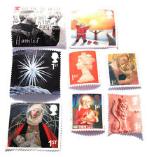 60 UNFRANKED FIRST CLASS MIXED STAMPS OFF PAPER. FACE VALUE £37.80p