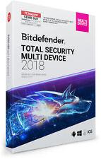Bitdefender Total Security Multi Device 2018 - 5 Geräte & PC | 2 Jahre + VPN