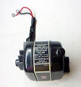 Original Singer Featherweight 230-250 Volt motor Made in Great Britain