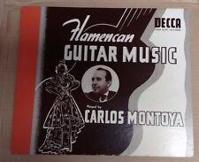 CARLOS MONTOYA - Rare Flamencan Guitar Music Decca Album 197 V+E-