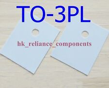 50 pcs Heat Sink Pad TO-3PL 264 22x29mm Transistor Insulator Silicone Rubber