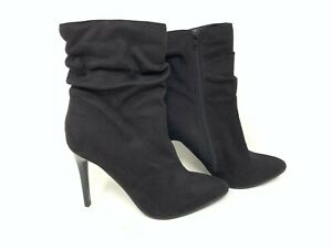 NEW Metaphor Women/'s Kell Zip Up Ankle Booties Black #42396* 60F
