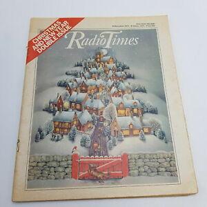 Vintage BBC Christmas RADIO TIMES Magazine 1977 [G+] Morecambe & Wise Feature